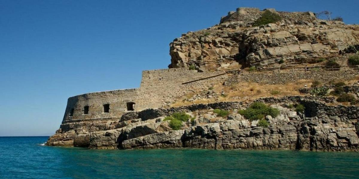 Spinalonga, a ilha grega onde leprosos eram abandonados para esperar a morte