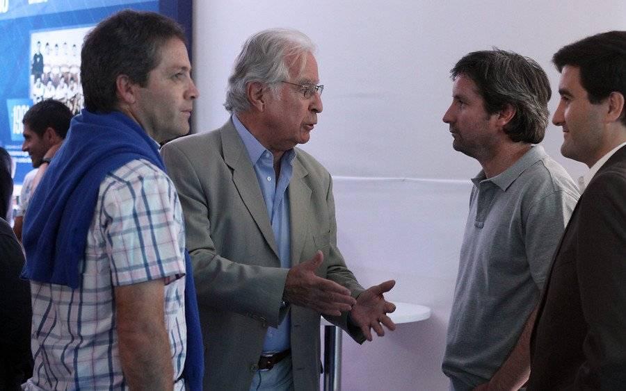 Ignacio Prieto trabajará con Andrés Romero y Nelson Parraguez, entre otros, en el fútbol formativo de la UC / Foto: Agencia UNO