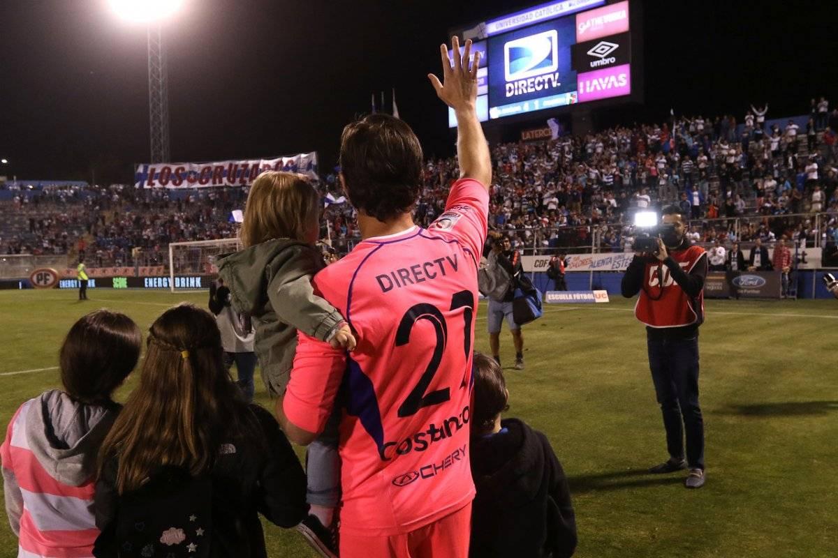 Costanzo se retira del fútbol / imagen: Agencia UNO