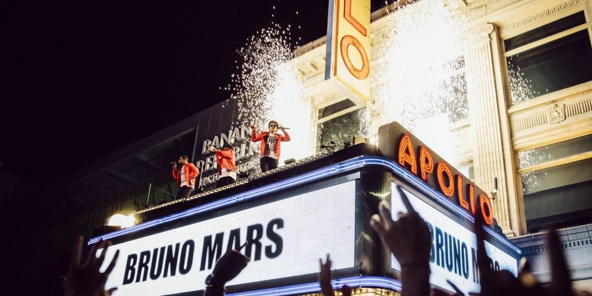 Bruno Mars estrenará especial en la TV