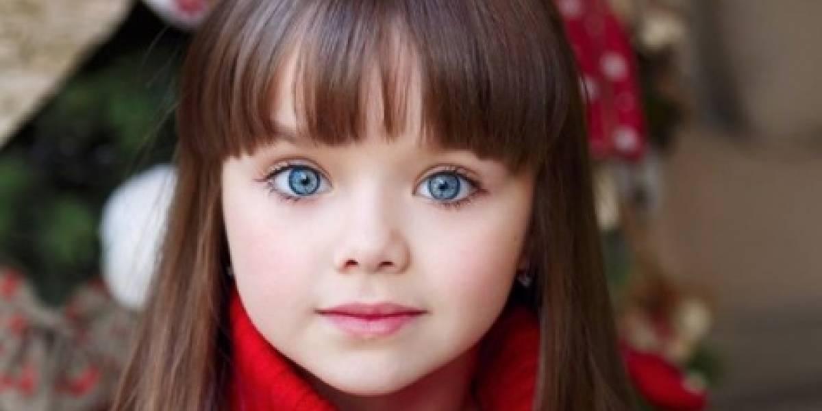 Niña rusa de seis años es considerada la más hermosa del planeta