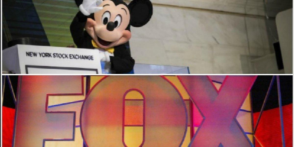 Disney estaría a punto de comprarle canales de TV y otras propiedades a FOX por US$60 mil millones