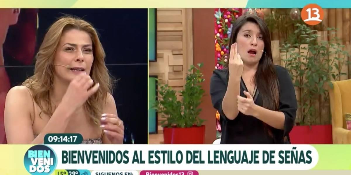 """""""Harto penca"""": Las críticas y elogios a """"Bienvenidos"""" por su invitación al matinal a intérpretes de lengua de señas furor de la Teletón"""