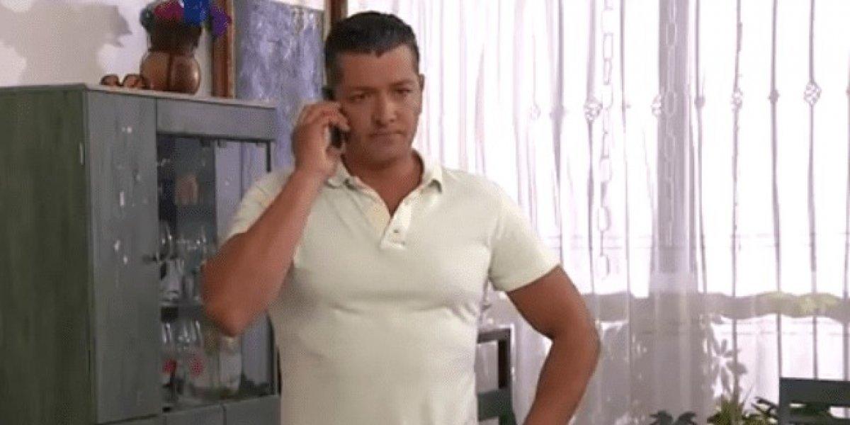 Revelan imágenes del actor Carlos Peniche viviendo como indigente