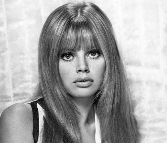 Britt Ekland en Hollywood