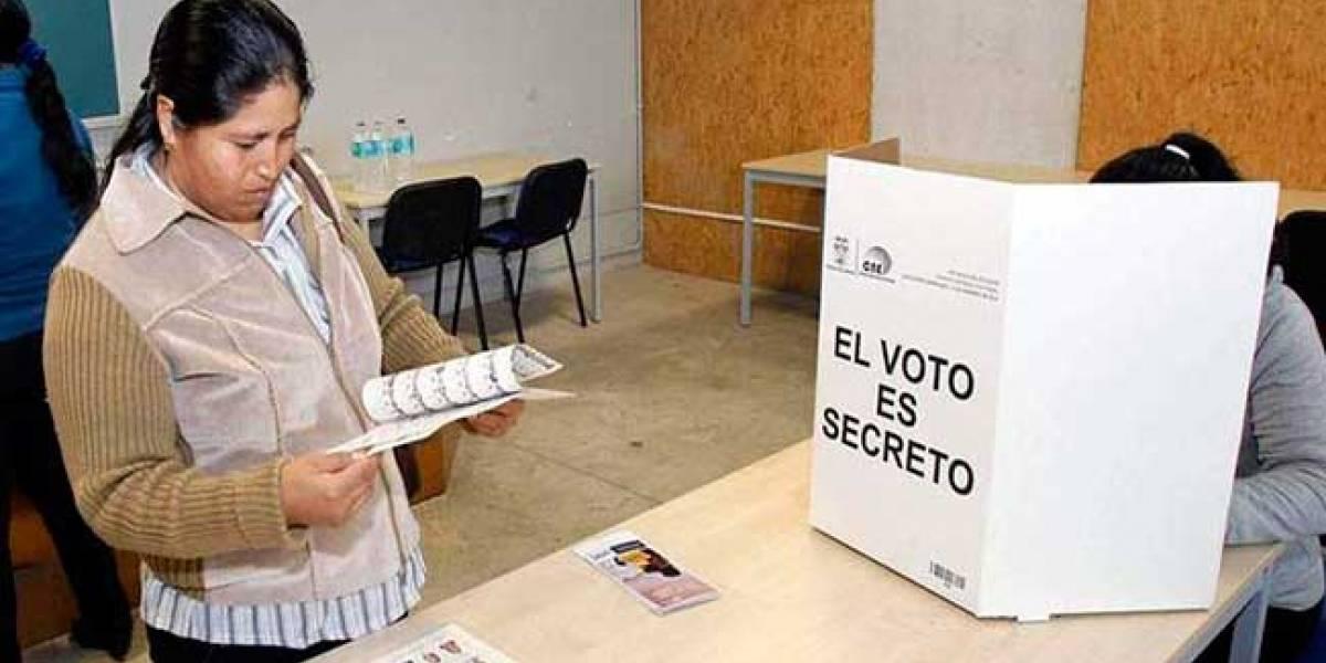 30 días de campaña electoral para Consulta Popular