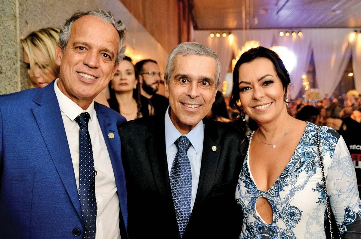 Coronel James, Herbert Carneiro e Cláudia Maia Ton Nettos