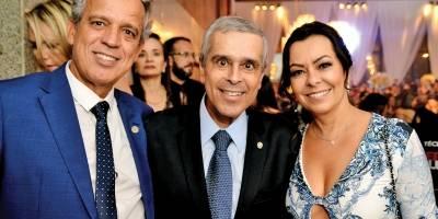 Coronel James, Herbert Carneiro e Cláudia Maia