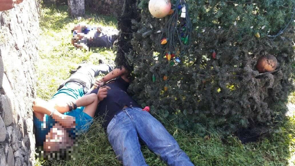 Cinco hombres mueren electrocutados al poner árbol de Navidad