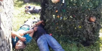 Electrocutados por instalar árbol navideño