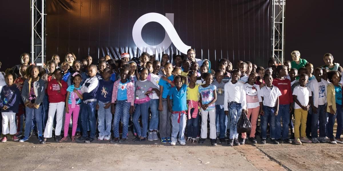 """Altice llevó a infantes de la Fundación Merced a disfrutar el show """"Diney On Ice"""""""