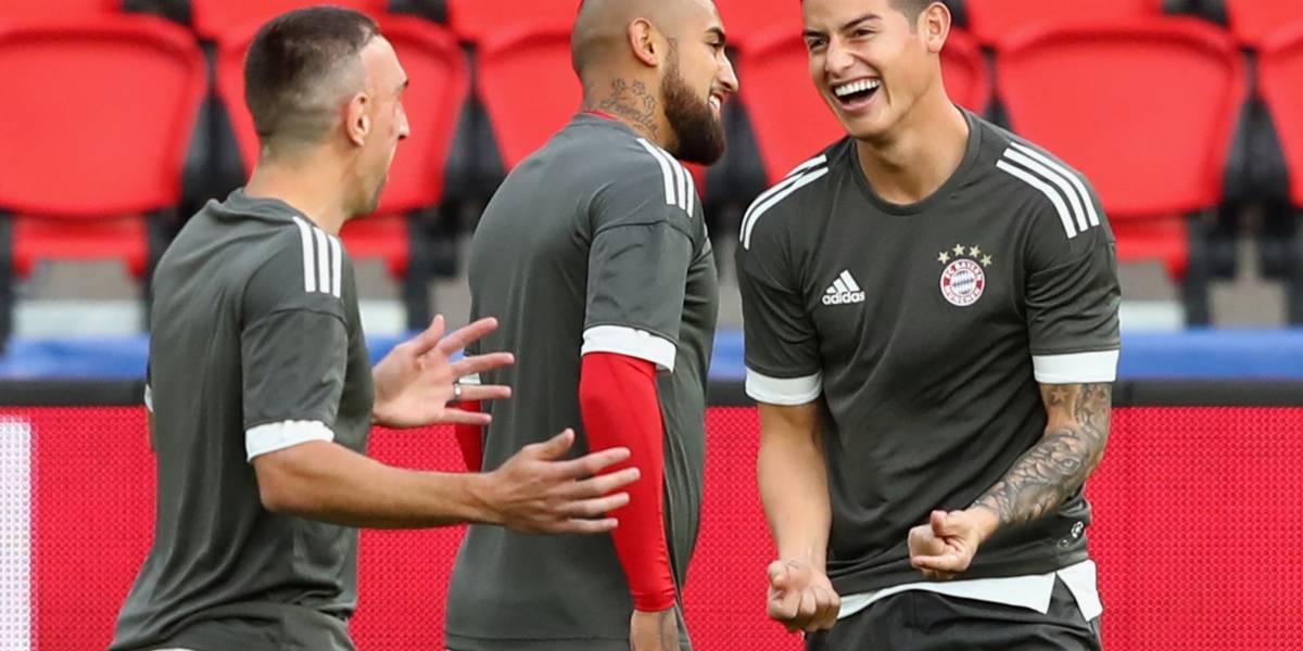 """Vidal a James: """"Tú eres un niño y vienes a aprender acá"""""""