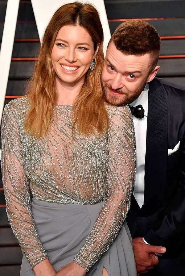 Mi querido Justin Timberlake y su esposa Jessica Biel