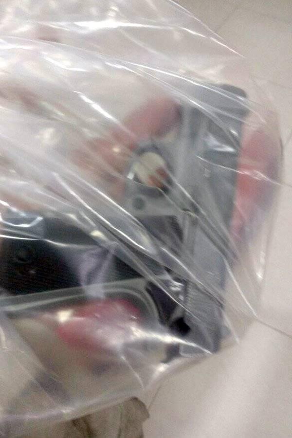 Detenido se introdujo una pistola en el trasero para ocultarla de la policía