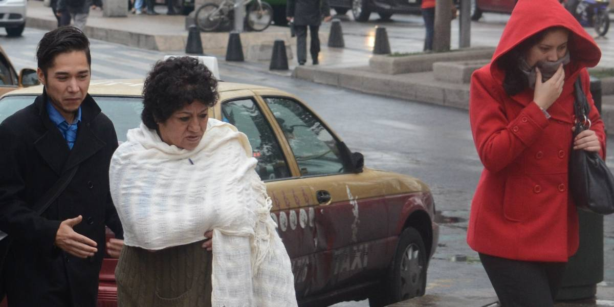 Frente frío 14 provocará bajas temperaturas, lluvias fuertes, tormentas eléctricas y granizadas