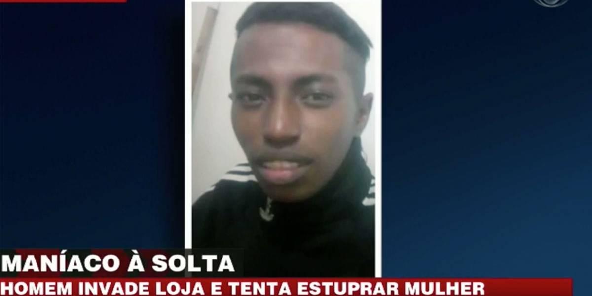 Homem invade loja e tenta estuprar mulher na zona oeste de São Paulo