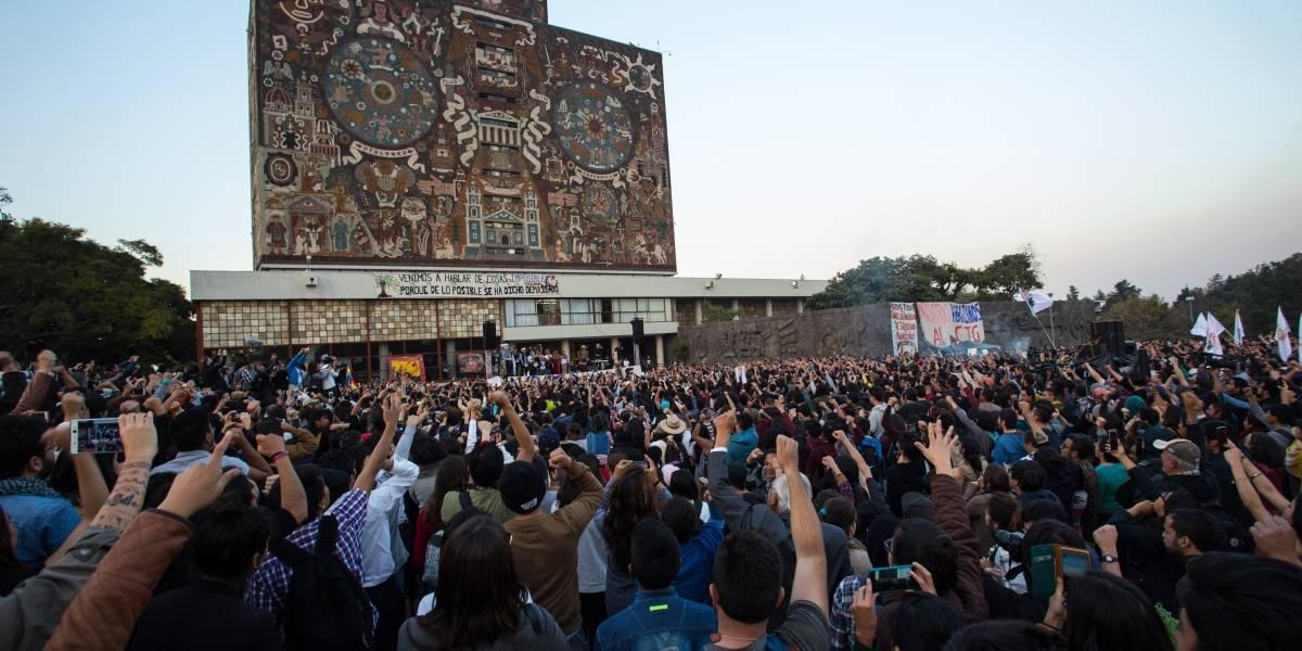 UNAM abre las puertas a los candidatos presidenciales
