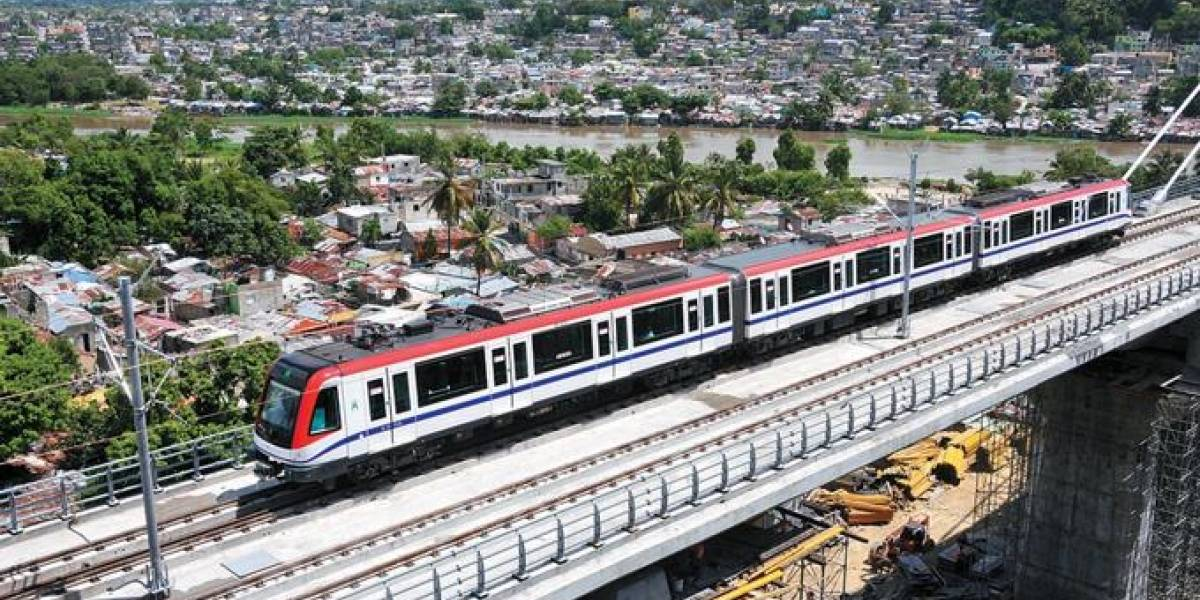 Metro Santo Domingo tendrá 30 nuevos vagones en el 2018