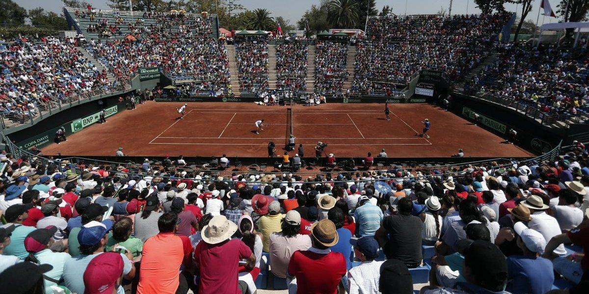 No quieren bochornos: la Copa Davis vuelve al remozado Court Central del Estadio Nacional