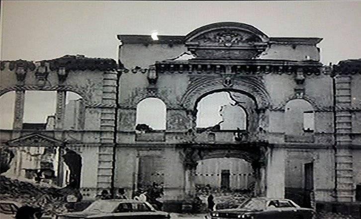 Demolición de la Biblioteca Nacional de San Blas en 1972 Quito Nostálgico