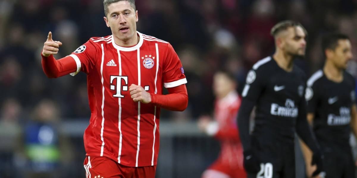 El Bayern golea al PSG, pero queda segundo de su grupo