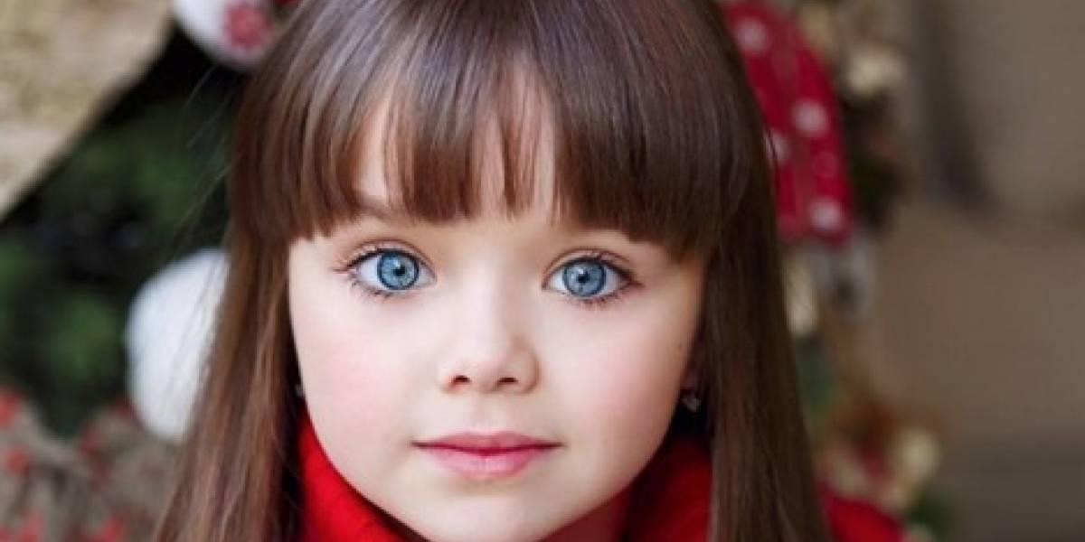Menina mais bonita do mundo tem apenas 6 anos e mora na Rússia