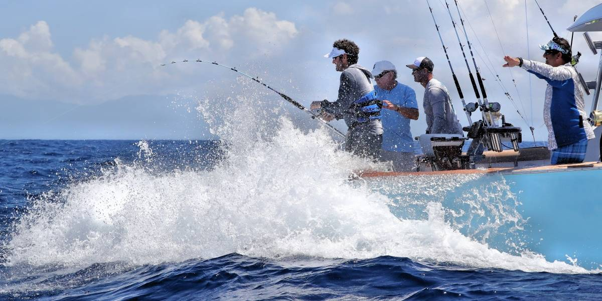 Más de 35 embarcaciones en el Torneo Internacional de Pesca
