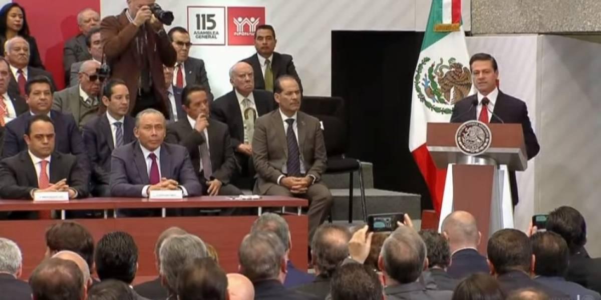 Peña Nieto destaca creación de 3.4 millones de empleos