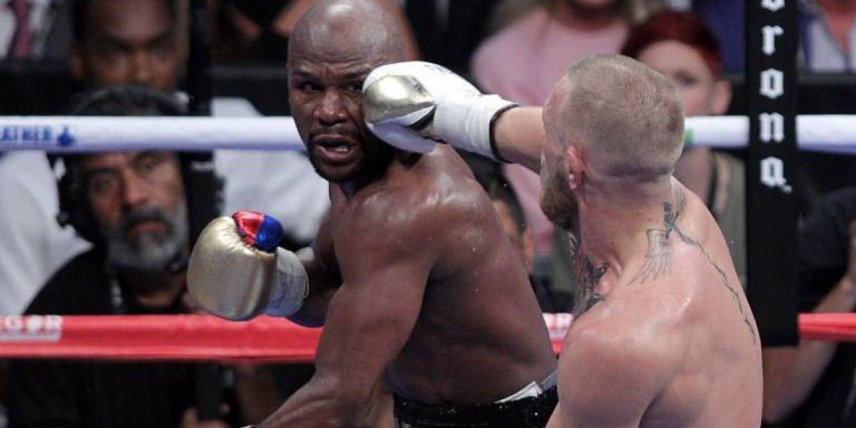 Y fue un tongo: Mayweather reconoció que dejó a McGregor ganarle los primeros rounds