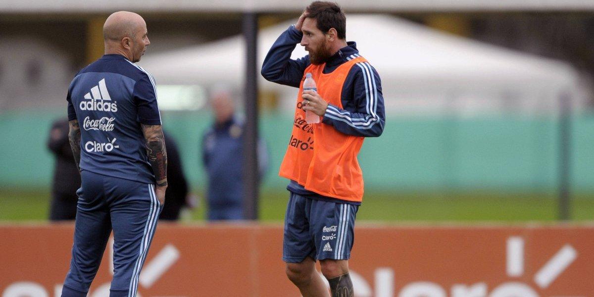 """Lionel Messi: """"Sampaoli en Chile no tenía la obligación de ganar, Argentina es otra cosa"""""""