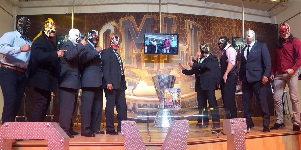 Se expondrán 10 máscaras en función de Navidad del CMLL
