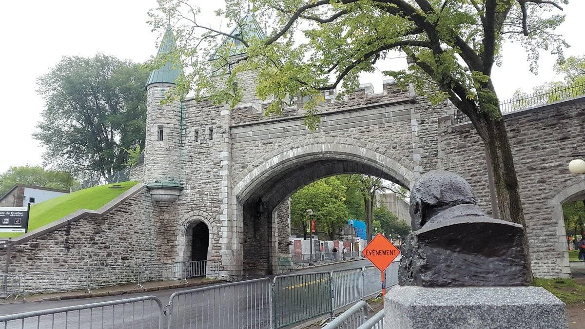 O castelo de Frontenac