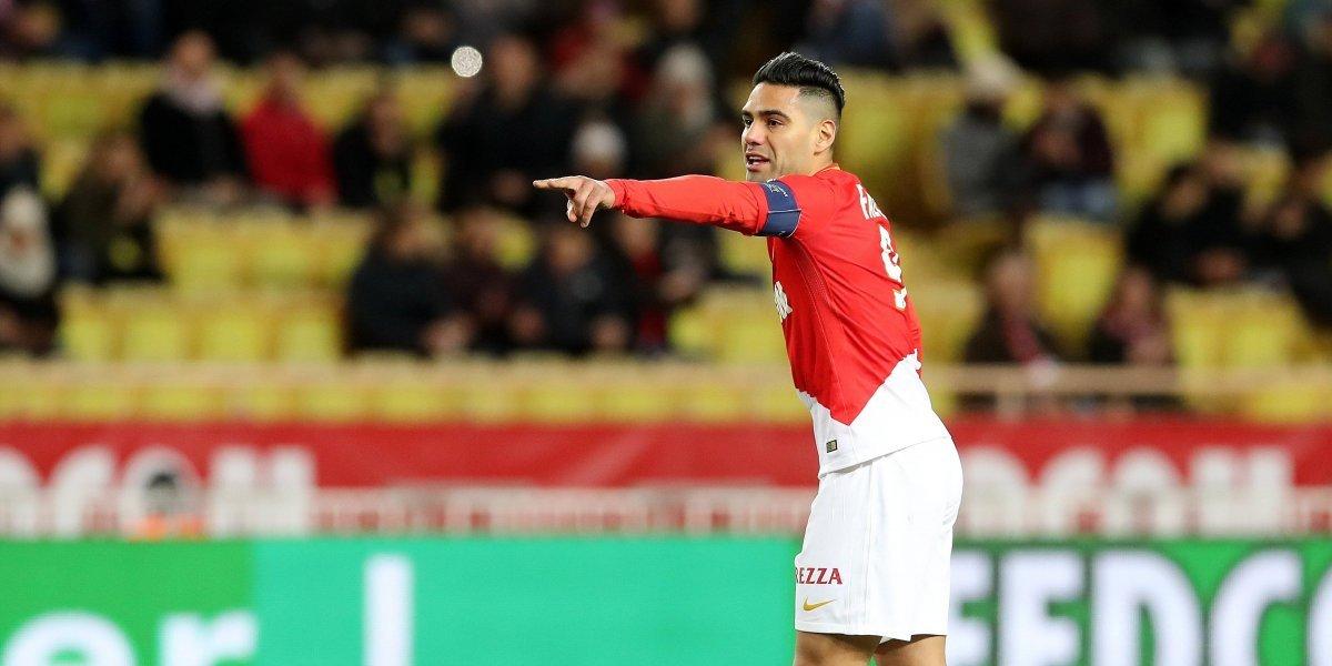 ¡El Tigre y el León! Falcao amenaza en la Copa al Olympique Lyonnais
