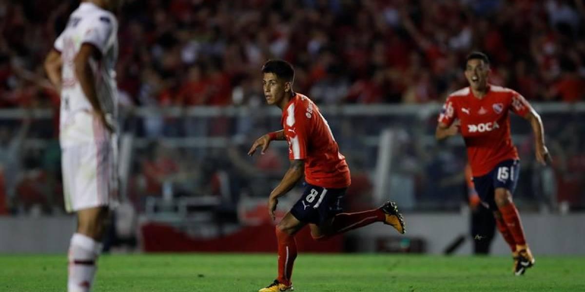 Independiente le ganó de guapo a Flamengo en la final de ida de la Copa Sudamericana