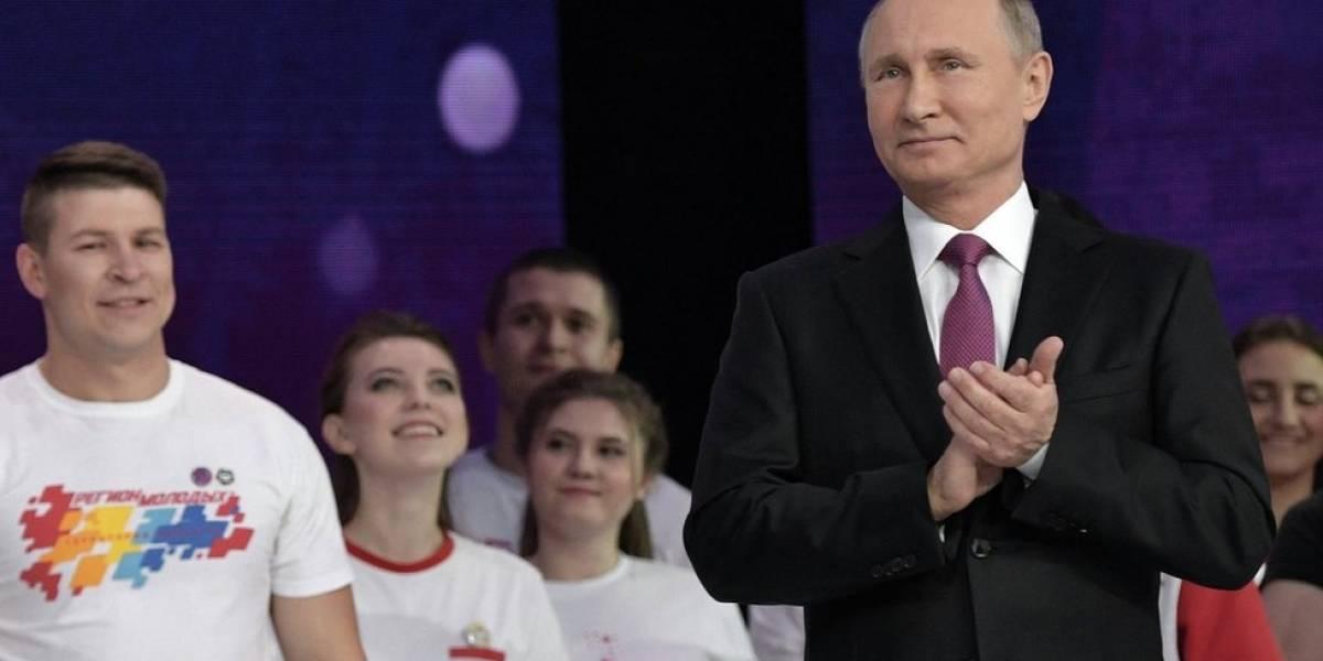 Vladimir Putin anuncia que buscará la reelección y su cuarto período como presidente de Rusia