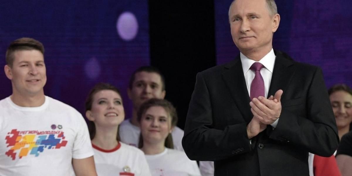 Putin anuncia que buscará la reelección y su cuarto período como presidente de Rusia