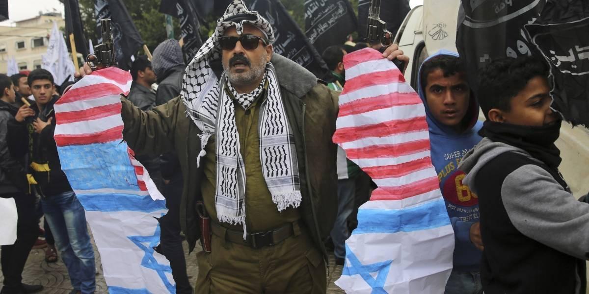 Países árabes se declaran 'furiosos' ante medida de Trump sobre Jerusalén