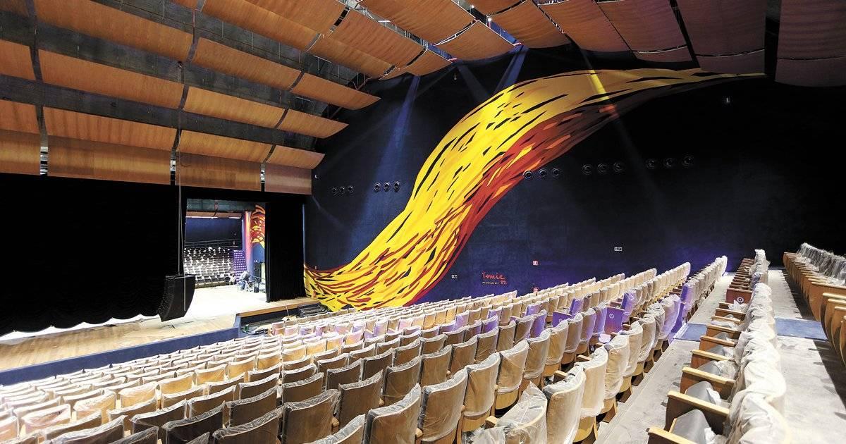 Auditório Simon Bolívar está pronto para abertura