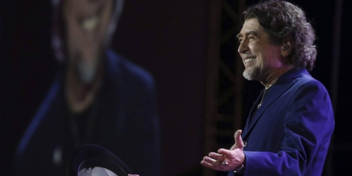Joaquín Sabina, hospitalizado en Madrid por un problema circulatorio