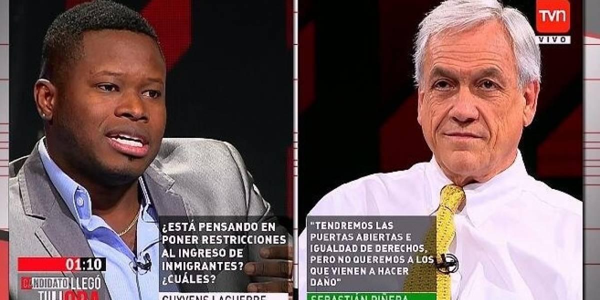 """Polémica por chiste racista de Piñera en programa de TV"""""""