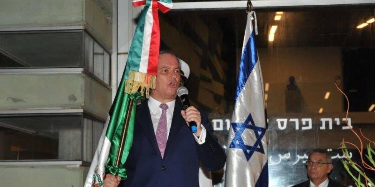 La embajada de México en Israel se mantendrá en Tel Aviv: SRE