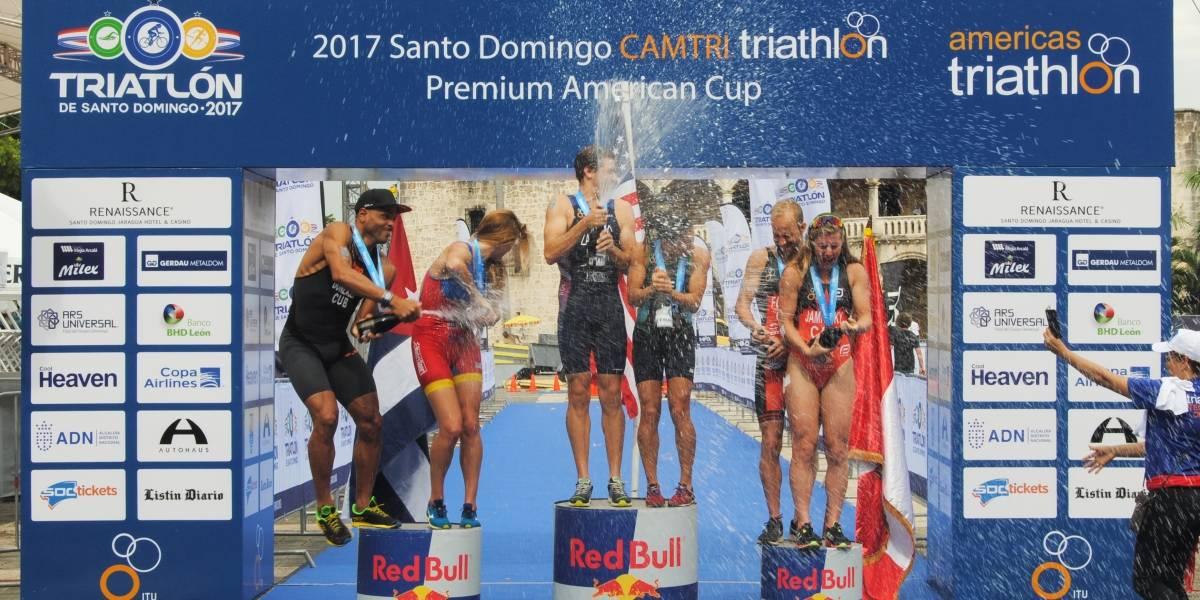 Tommy Zaferes (USA) es el Campeón Panamericano Premium Elite de Triatlón