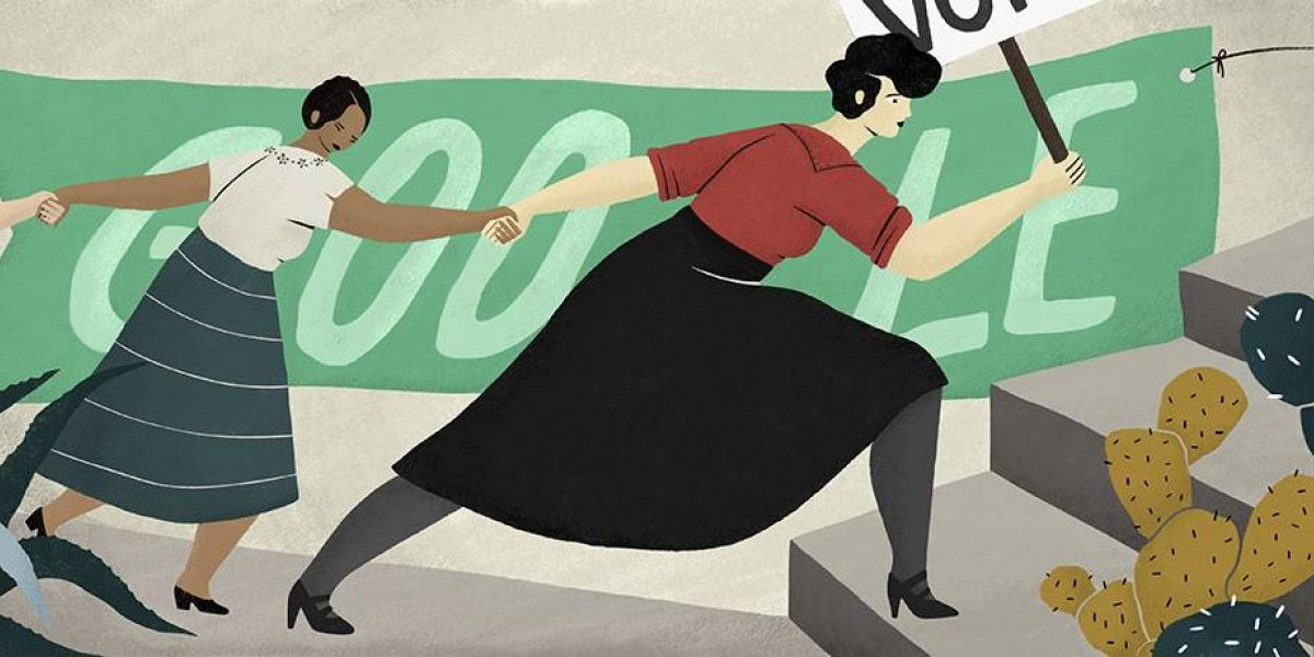 ¿Por qué Elvia Carrillo Puerto aparece en el Doodle de Google?