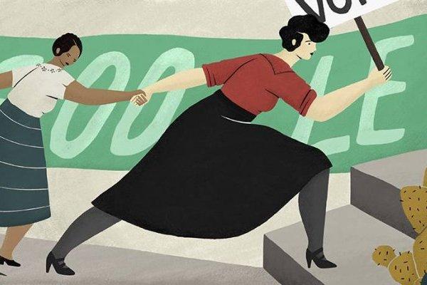 Doodle de Google de Elvia Carrillo Puerto