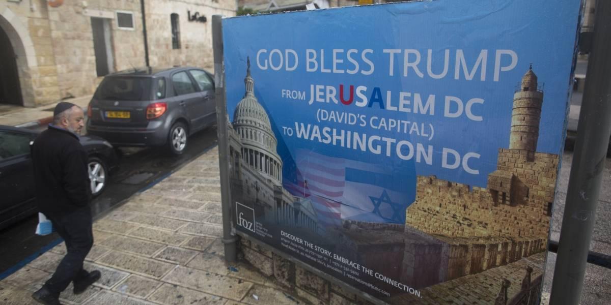 Trump mete el dedo en la herida y reconoce a Jerusalén como capital de Israel
