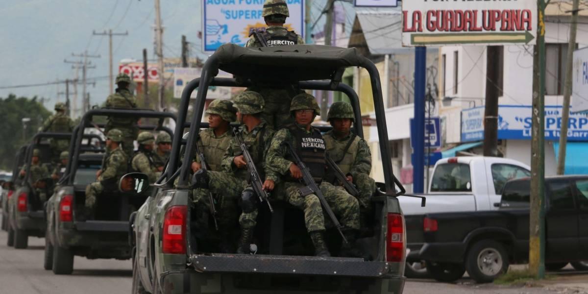 Ejército y policía abaten a siete presuntos sicarios en Mante, Tamaulipas
