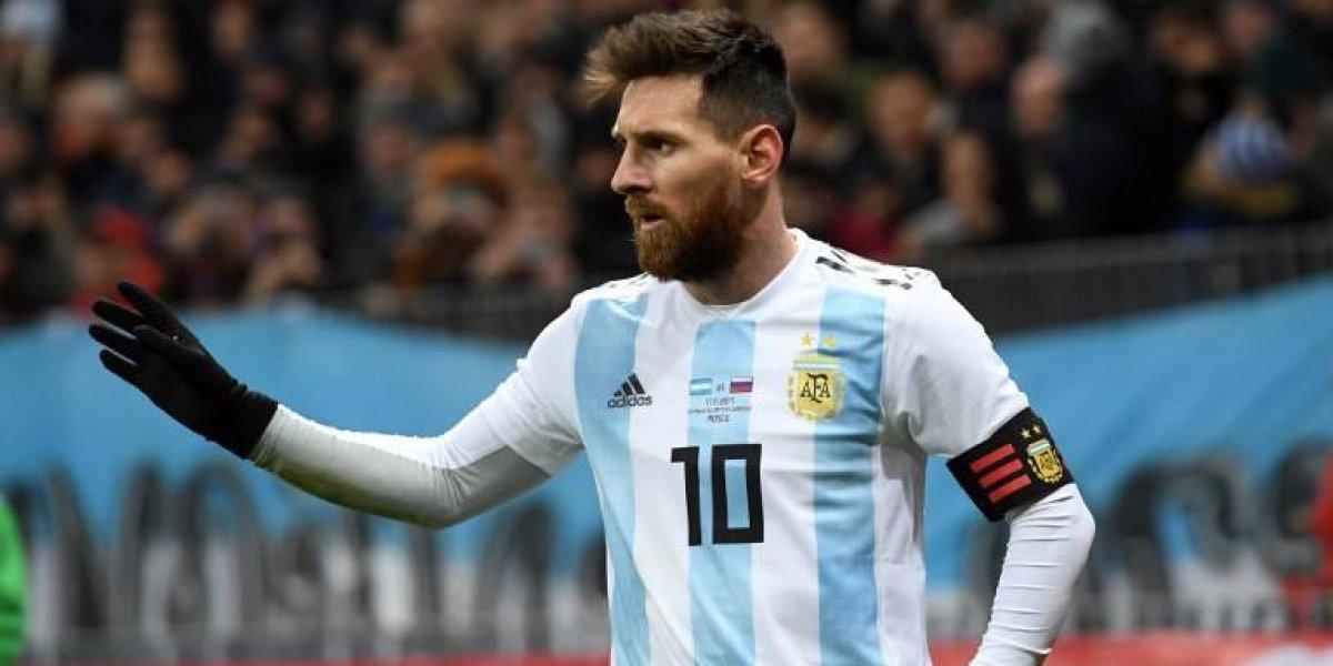 Resultado de imagen para argentina messi 2018