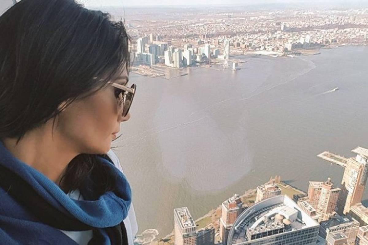 Pamela Díaz desata polémica por foto de su vacaciones en Nueva York