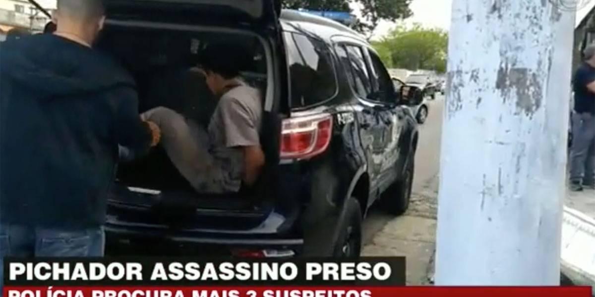 Pichador assassino é preso na favela do Heliópolis em São Paulo
