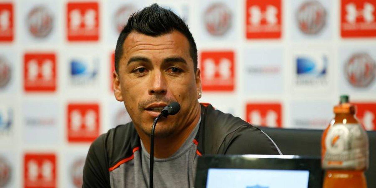 """Paredes no quiere que Guede se vaya de Colo Colo: """"Es excelente, esperemos que pueda seguir"""""""